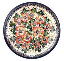 exclusive artistic pattern EX310 ceramic boleslawiec