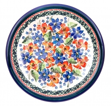 exclusive artistic pattern EX311 ceramic boleslawiec