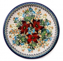 exclusive artistic pattern EX317 ceramic boleslawiec