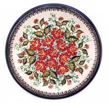 exclusive artistic pattern EX319 ceramic boleslawiec