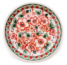 exclusive artistic pattern EX335 ceramic boleslawiec