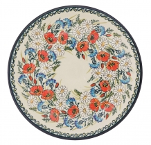 exclusive artistic pattern EX341 ceramic boleslawiec